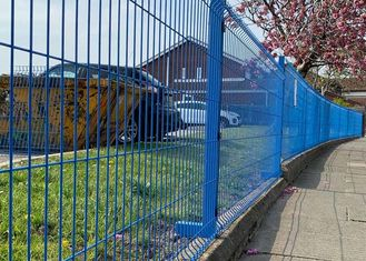 4x4 Welded Wire Mesh Fence Panels Powder Coated and Hot Dipped Construction